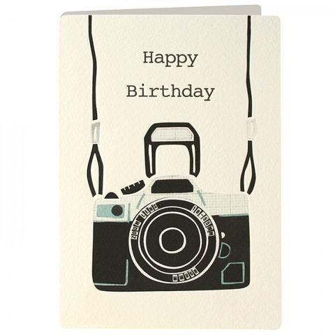 Happy Birthday Photographer – Photographer Birthday Card